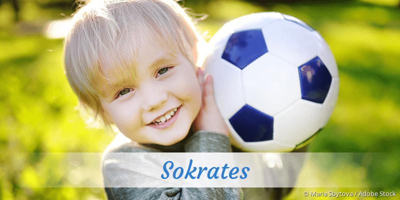 Name Sokrates als Bild