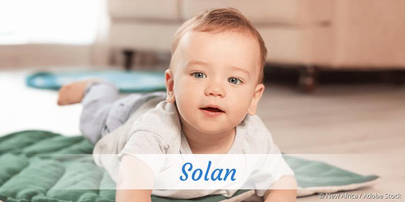 Name Solan als Bild