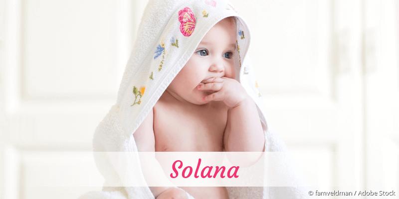 Name Solana als Bild
