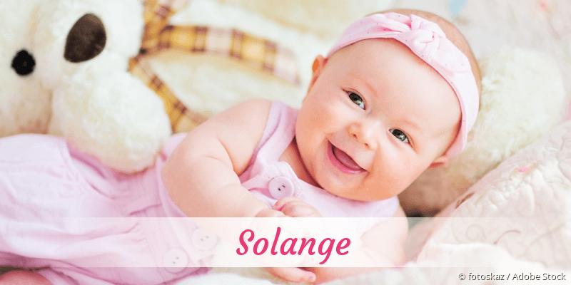 Name Solange als Bild