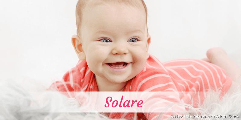 Name Solare als Bild