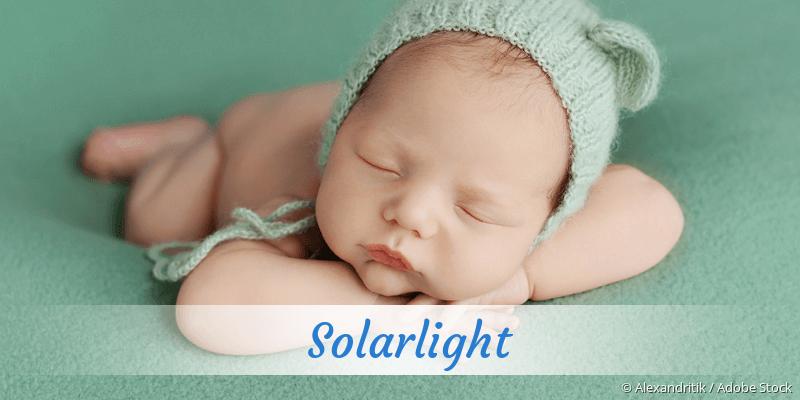 Name Solarlight als Bild