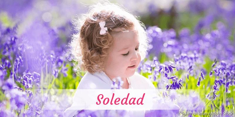 Name Soledad als Bild