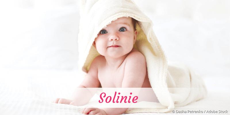 Name Solinie als Bild