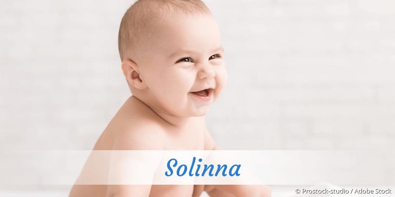 Name Solinna als Bild