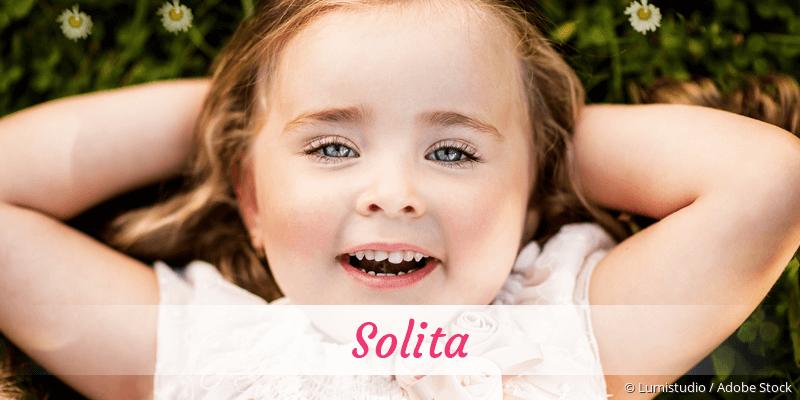 Name Solita als Bild