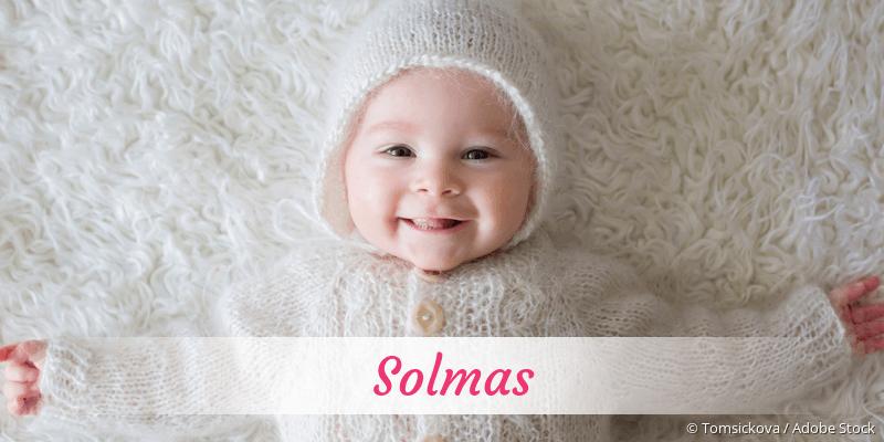 Name Solmas als Bild