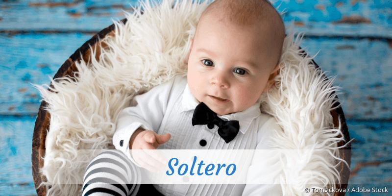 Name Soltero als Bild
