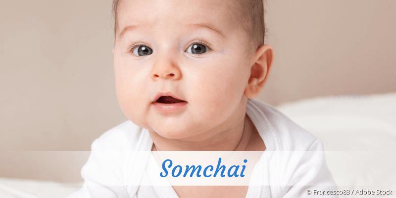 Name Somchai als Bild