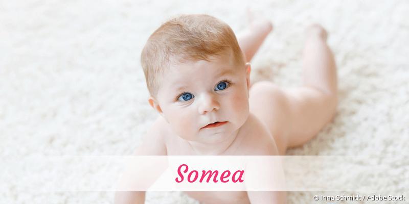Name Somea als Bild