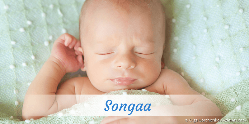 Name Songaa als Bild