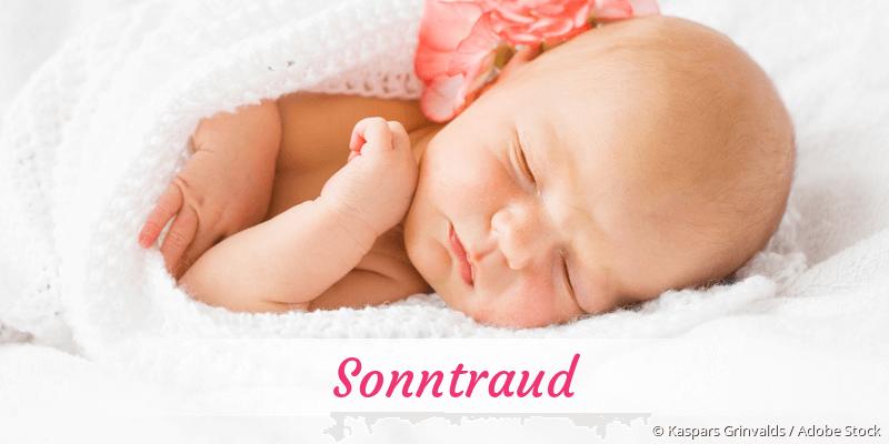 Name Sonntraud als Bild