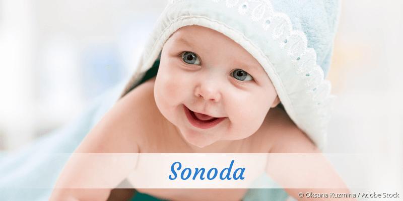 Name Sonoda als Bild
