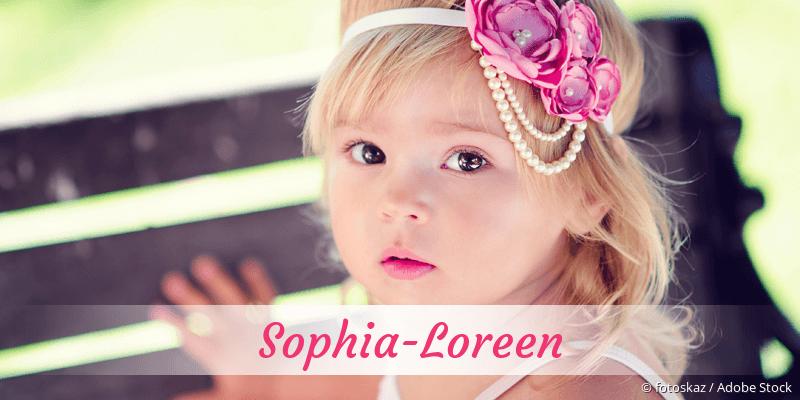 Name Sophia-Loreen als Bild