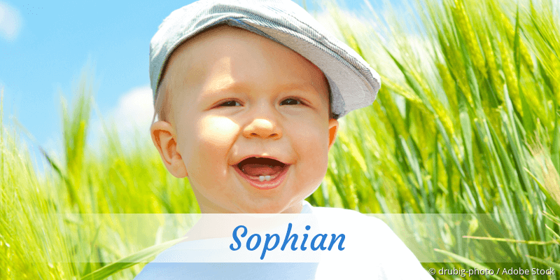 Name Sophian als Bild