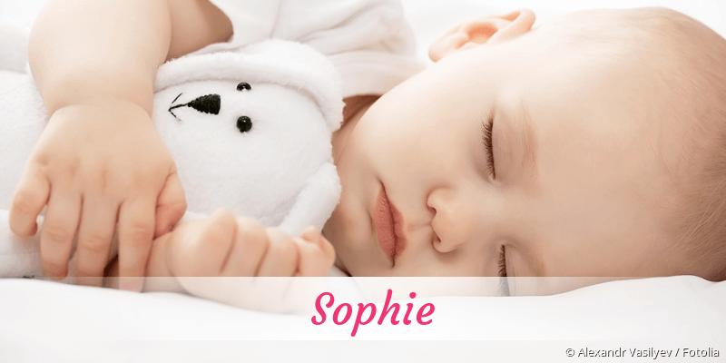Name Sophie als Bild