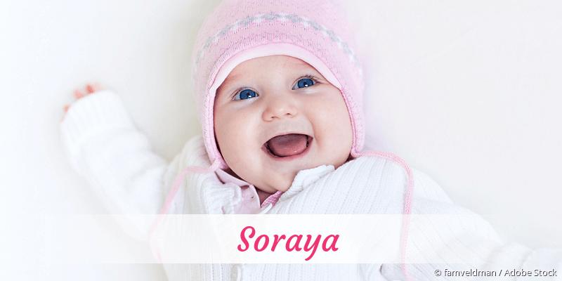 Name Soraya als Bild