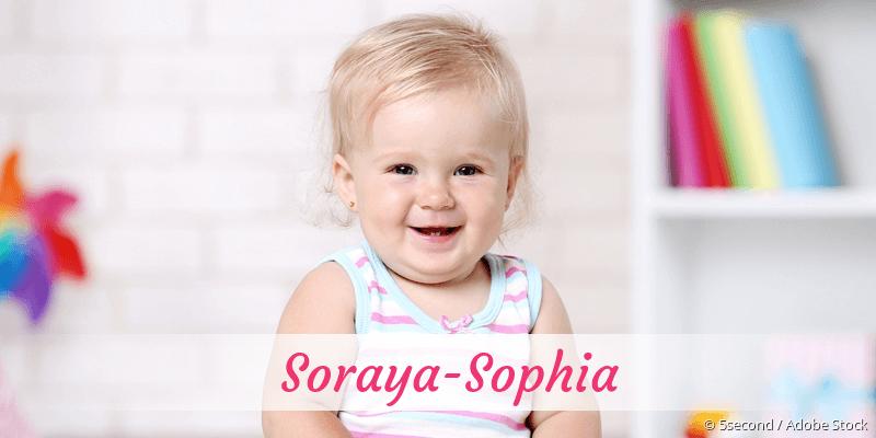 Name Soraya-Sophia als Bild