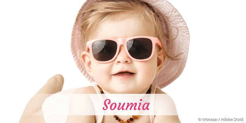 Name Soumia als Bild