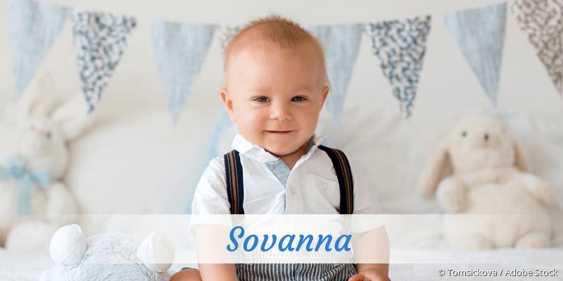 Name Sovanna als Bild