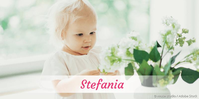 Name Stefania als Bild