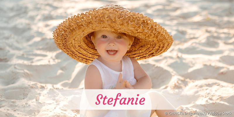Name Stefanie als Bild