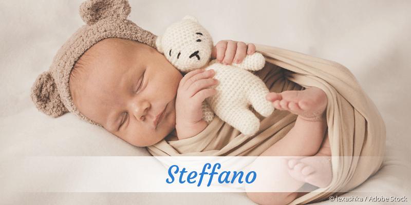 Name Steffano als Bild