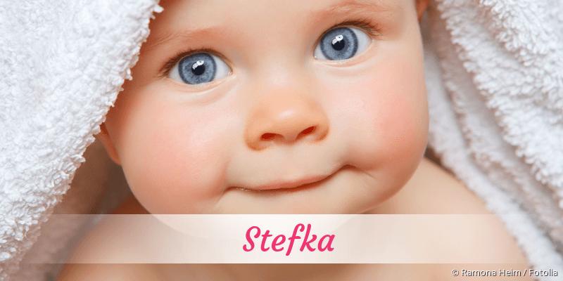 Name Stefka als Bild