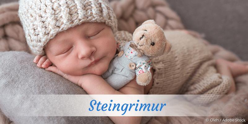 Name Steingrimur als Bild