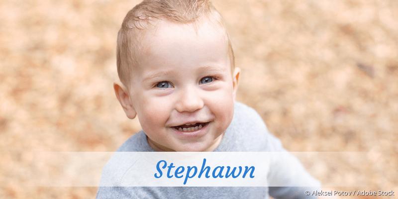 Name Stephawn als Bild