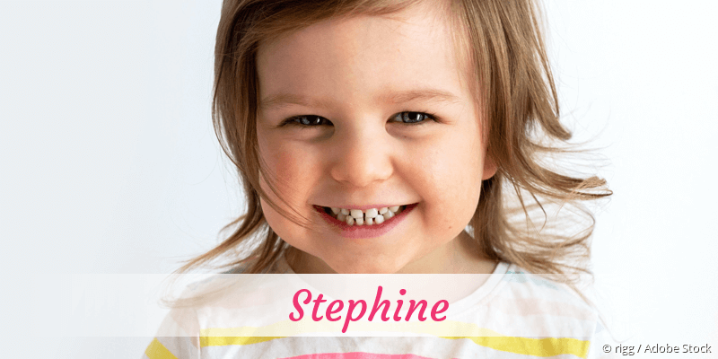Name Stephine als Bild