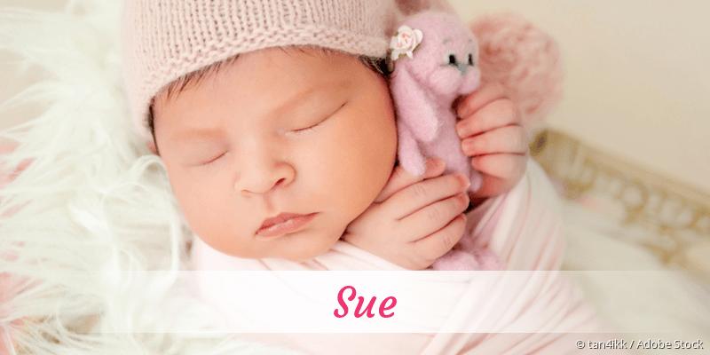 Name Sue als Bild