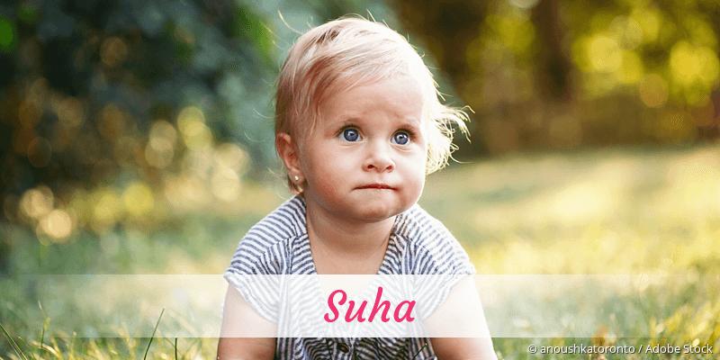 Name Suha als Bild