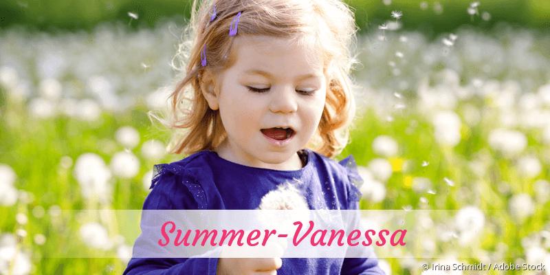 Name Summer-Vanessa als Bild
