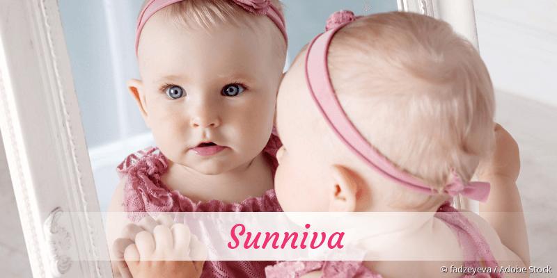 Name Sunniva als Bild