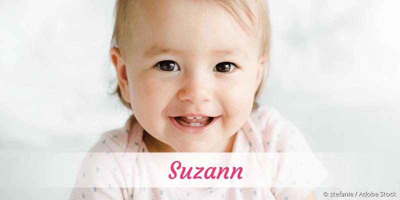 Name Suzann als Bild
