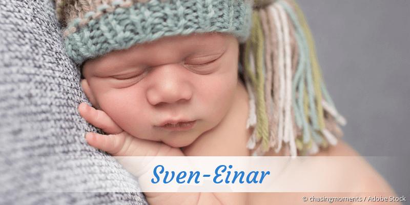 Name Sven-Einar als Bild
