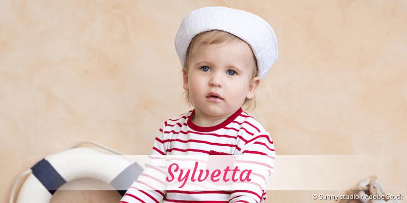 Name Sylvetta als Bild
