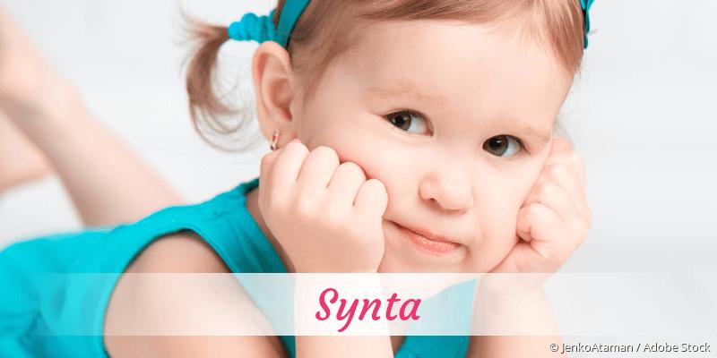 Name Synta als Bild