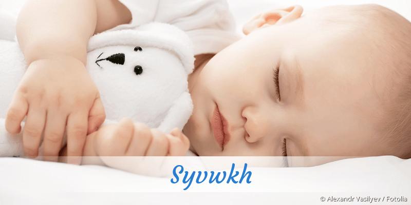 Name Syvwkh als Bild