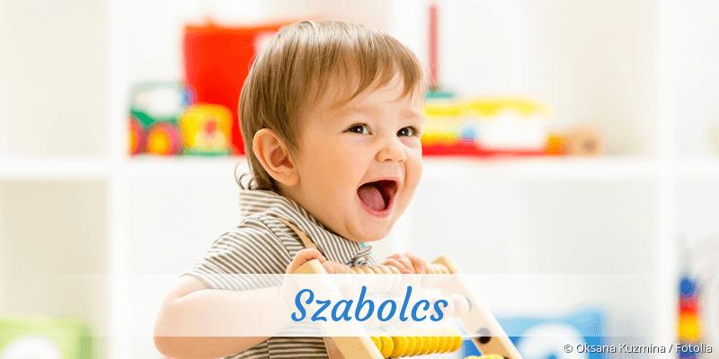 Name Szabolcs als Bild