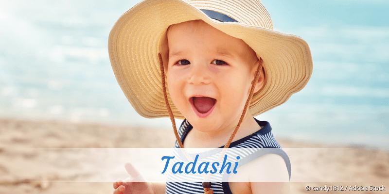 Name Tadashi als Bild