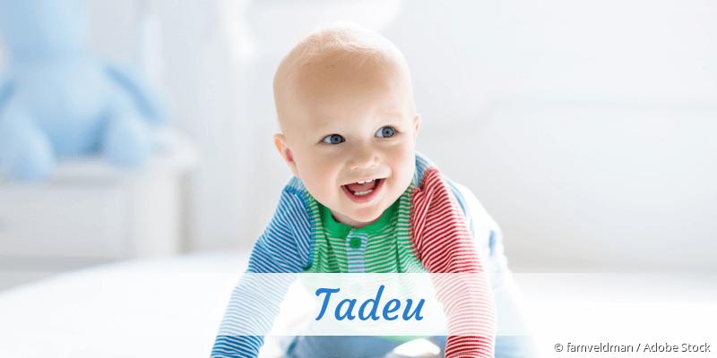 Name Tadeu als Bild