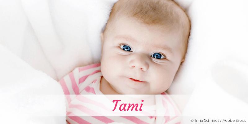 Name Tami als Bild