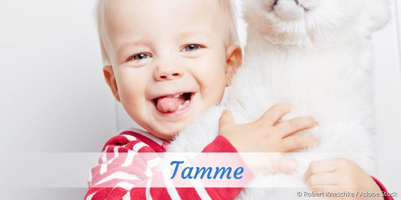 Name Tamme als Bild