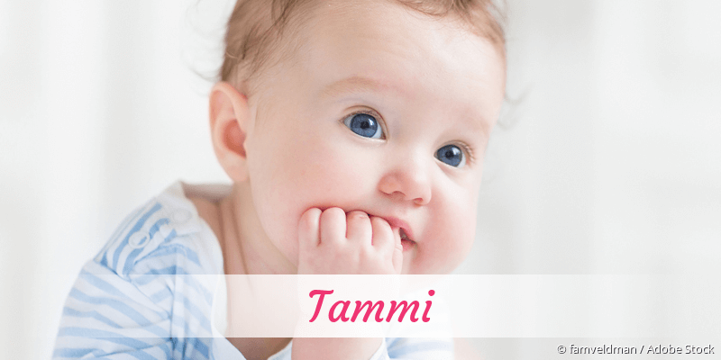 Name Tammi als Bild