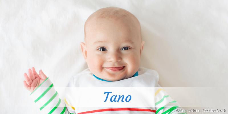 Name Tano als Bild