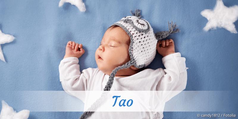 Name Tao als Bild