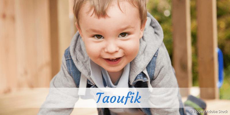 Name Taoufik als Bild