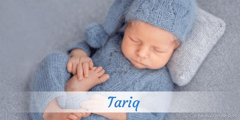 Name Tariq als Bild